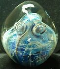 Robert Eickholt art glass signed paperweight 1991