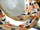 PHEONIX  IMARI*COBALT*POPPY  TEA CUP AND SAUCER HAND PAINTED