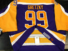 LOS ANGELES KINGS WAYNE GRETZKY 99 VINTAGE AUTHENTIC Licensed JERSEY SIZE 56