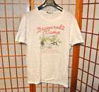 DSQUARED2 TASTE MY DOG THIN WHITE COTTON T SHIRT VINTAGE RUNWAY jean M L LARGE