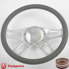 14 Billet Steering Wheels Half Wrap Bronco F150 Mercury Capri Lincoln w Horn