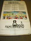 AMARCORD US ONE SHEET MOVIE POSTER B FEDERICO FELLINI