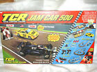 Tyco TCR Jam Car 500 + EXTRAS - Slotless HO Scale Racing Set - Restored