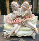 Figurines Dresden Germany Porcelain Ballerinas No Markings, Excellent Condition!