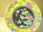 ANTIQUE  HAND  PAINTED  NIPPON  ENAMEL   CABINET  PLATE  WALL  PLATE  SIGNED