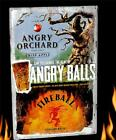 ANGRY ORCHARD  APPLE ANGRY BALLS FIREBALL WHISKY SIGN METAL BEER WHISKEY TIN NEW