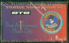 1996 STRATEGIC TELECOM SYSTEMS 1ST ANNIVERSARY PREPAID PHONE CHIP IN BOX NMMT