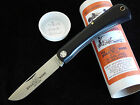 Great Eastern  Bull Nose  Black Delrin O1 Steel knife  715113. HARD TO FIND RARE