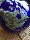 Lundberg Studios World Paperweight Signed Numbered 1993 Earth 4.25