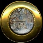 4 Solid Brass Foil Art Plates Made in England stamp 51/2