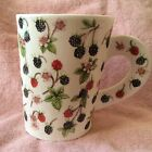 Dunoon Made in England Large Fine Bone China Mug Cup Fruit Fayre 15 oz