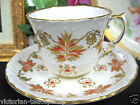 AYNSLEY TEACUP OLDER EMBOSSED DESIGN  TEA CUP AND SAUCER