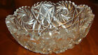 SAWTOOTH EDGE CUT CRYSTAL BOWL AMERICAN BRILLANCE PERIOD PERFECT CONDITION