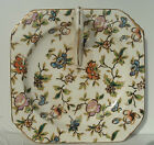 Chintz Nappy Japanese Dish Moriyama Mori-Machi Mark circa 1926 - 1929