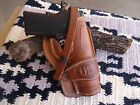 Colt Springfield 1911 Suede Lined Leather Holster Wild Bunch Field Holster US St