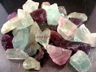 Natural FLUORITE 1000 CARAT Lots Purple Green White Pink Gemstone Rough