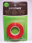 Thermoweb Super Tape 1 4 x 6 yd Roll Acid Free Clear Dbl Sided Photo Safe