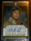 STAR WARS HERITAGE TOPPS ULTRA RARE AUTOGRAPH AUTO CARD MARK HAMILL AS LUKE 2004