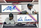 2007 TOPPS CO-SIGNERS CURTIS GRANDERSON MELKY CABRERA DUAL AUTO AUTOGRAPH