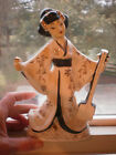 VINTAGE PORCELAIN GEISHA GIRL FIGURINE -  JAPAN