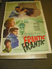 FRANTIC ORIG US ONE SHEET MOVIE POSTER JEANNE MOREAU LOUIS MALLE