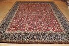 8' x 10' Top Quality handmade Persian Esfahan design fine weave tight knots rug