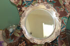 Reed & Barton 1666 Heavy Silver Plate King Francis Pattern Mirror Cake StandTray