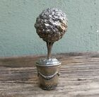 Vagabond House 70 Pewter Topiary Salt and Pepper Shaker Set of 2