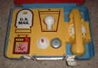 Vintage Mattel 1965 Go Play Brief case Toy Playset Suit SuitCase Rare Classic NR