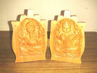 Ganesh Lakshmi Namaste Folded Hands Collectible Wood Attractive Sculpture