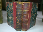 Poems by Henry Wadsworth Longfellow in 2 volumes 1853 Leather antique