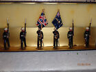 Blenheim Toy Soldiers Set B 18 British Royal Marine Colour Party RETIRED RARE
