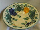 ANTIQUE GERMAN POTTERY DECORATIVE LARGE BOWL HAND PAINTED FRUIT L@@k