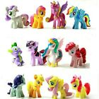 New My Little Pony Pvc Figure Set of 12pcs Cake Toppers Doll Action Figures Toy