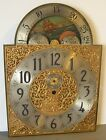 HERSCHEDE WESTMINSTER CHIME TUBULAR BELL CLOCK DIAL FOR TALL CASE ELECTRIC CLOCK
