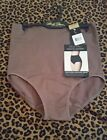 Marilyn Monroe Intimates Size Large Seamless Control Brief Shaper Panty L Taupe