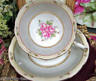 ROYAL GRAFTON TEA CUP AND SAUCER PRETTY PINK ROSES TEACUP PATTERN