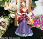 GOEBEL W. GERMANY LADY FIGURINE FF276   PRETTY VICTORIAN LADY FANCY  DRESS