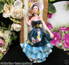 GOEBEL W. GERMANY LADY FIGURINE FF273   PRETTY VICTORIAN LADY FANCY  DRESS