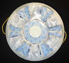 Yedi Blue Feathers Leaves Classic 6 Coffee Cups and Saucer NIB Storage Box