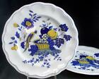 Spode BLUE BIRD 2 Dinner Plates S3274 signs of use GREAT VALUE