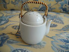 Porcelain Tea Ball - Holder is Teapot Shaped by Omnibus
