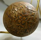 Antique Victorian Eastlake Aesthetic Movement Door Knobs Spindle Cast Bronze