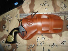 Ruger Vaquero Ruger Single Six Ten 5 1 2 Double Loop Brown Leather Holster