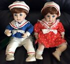 Twin Dolls, Moments Treasured Billy & Betsy, IOB Nice!!