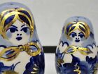 PORCELAIN DOLL SALT AND PEPPERS WITH LIDDED DOLL JAR
