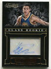 2012-13 PANINI TIMELESS TREASURES GLASS ROOKIE KLAY THOMPSON AUTOGRAPH 499