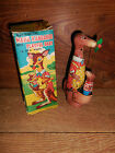 Vintage T.P.S. Japan Cragstan Mechanical Wind-Up Kangaroo with Box Works