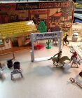 Louis Marx Roy Rogers Rodeo Ranch Playset Ex. Cond.