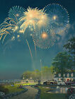 Best Seat in the House Fireworks 500 piece Jigsaw Puzzle SunsOut Made USA NEW